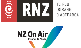 RNZ NZ On Air joint logo