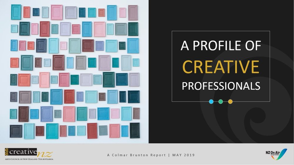 Profile of Creative Professionals research