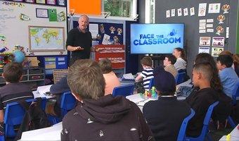 face the classroom