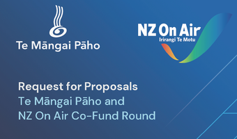 TMP & NZ On Air Co-Fund RFP